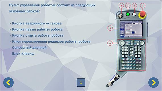 Мобильное приложение для промышленных роботов